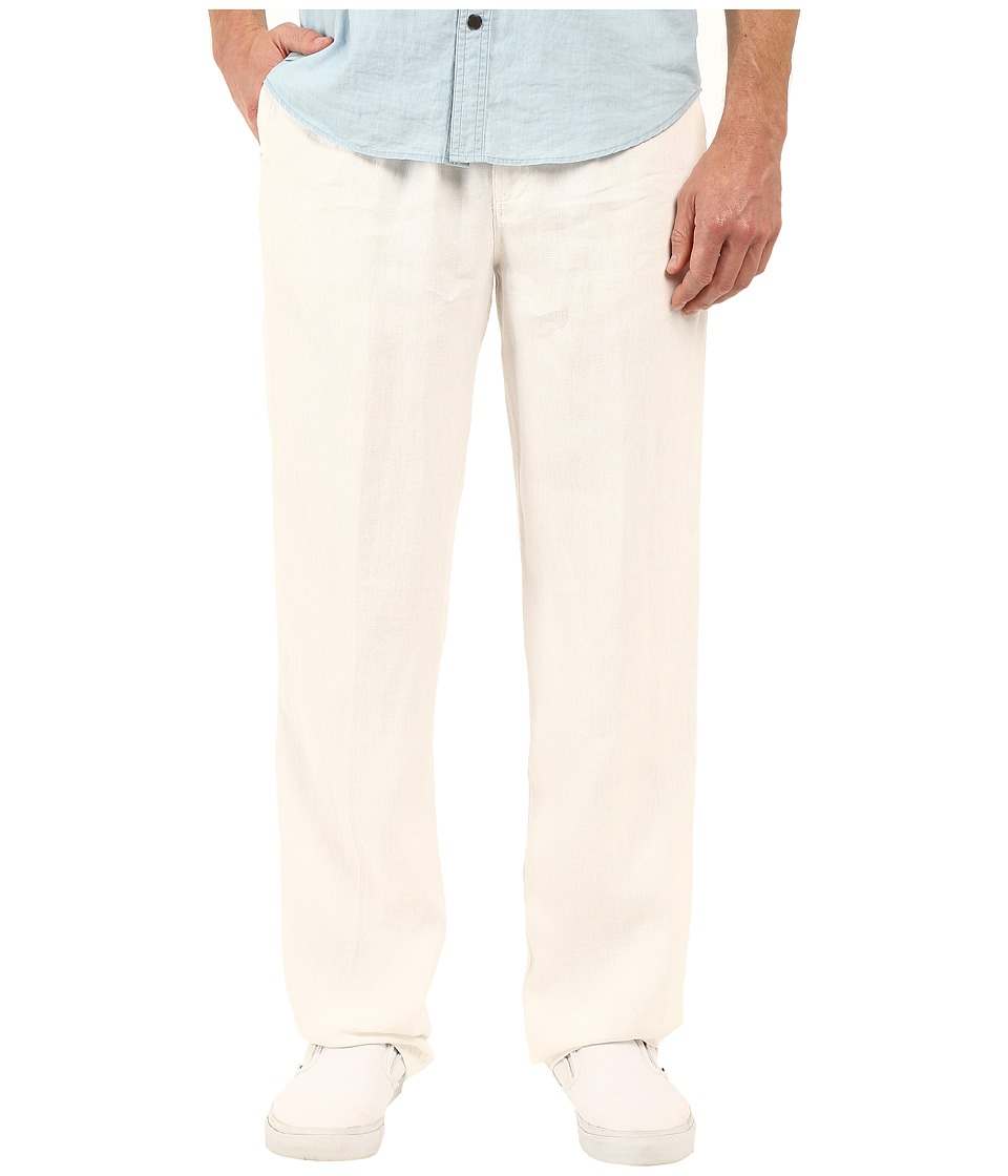Tommy Bahama - New Linen On The Beach Easy Fit Pant (White) Men's Casual Pants