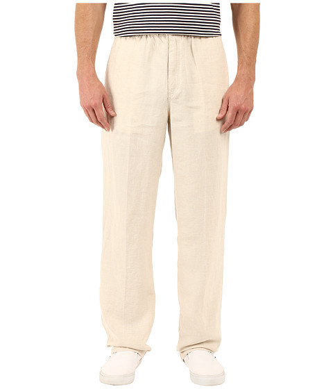 Tommy Bahama - New Linen On The Beach Easy Fit Pant (Natural Linen) Men