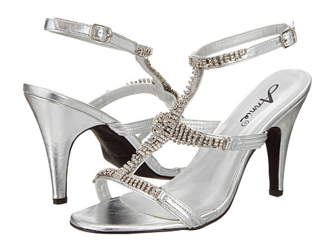 Annie - Christi (Silver Smooth) Women's Shoes