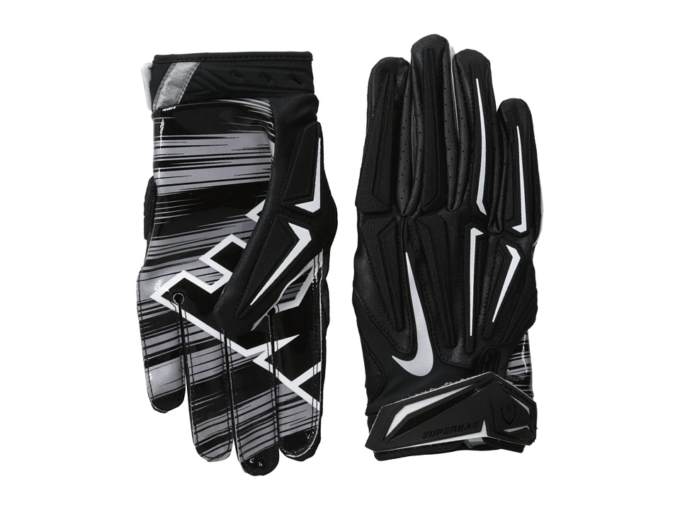 Nike - Superbad 3.0 (Black/Metallic Dark Grey/Black) Lifting Gloves