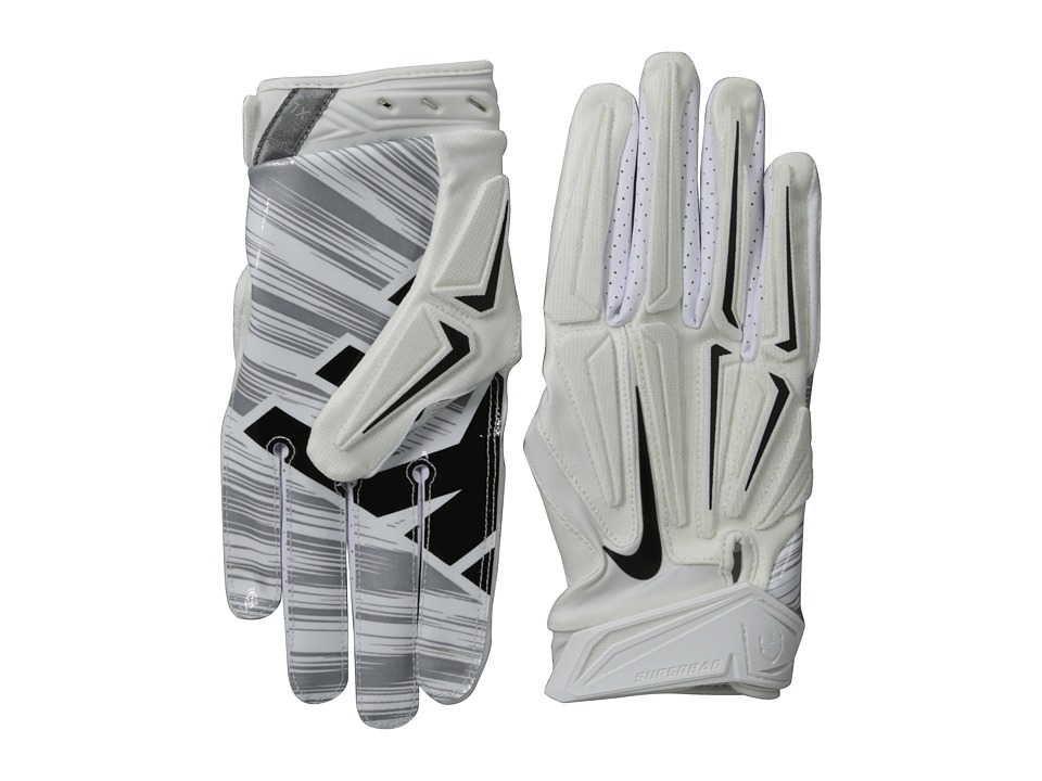 Nike - Superbad 3.0 (White/Metallic Dark Grey/White) Lifting Gloves