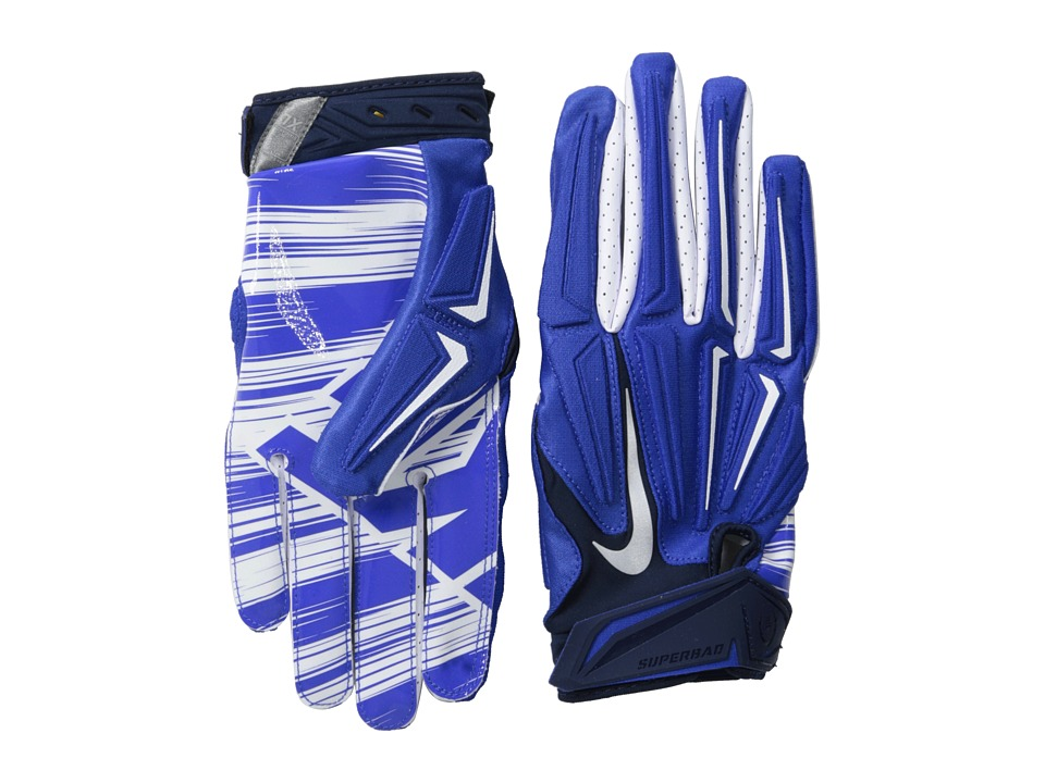 Nike - Superbad 3.0 (Game Royal/College Navy/White) Lifting Gloves