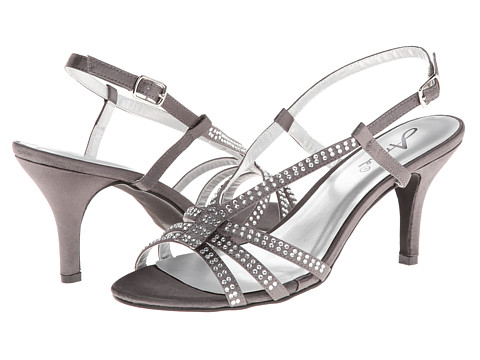 Annie - Lindley (Pewter Satin) Women's Shoes