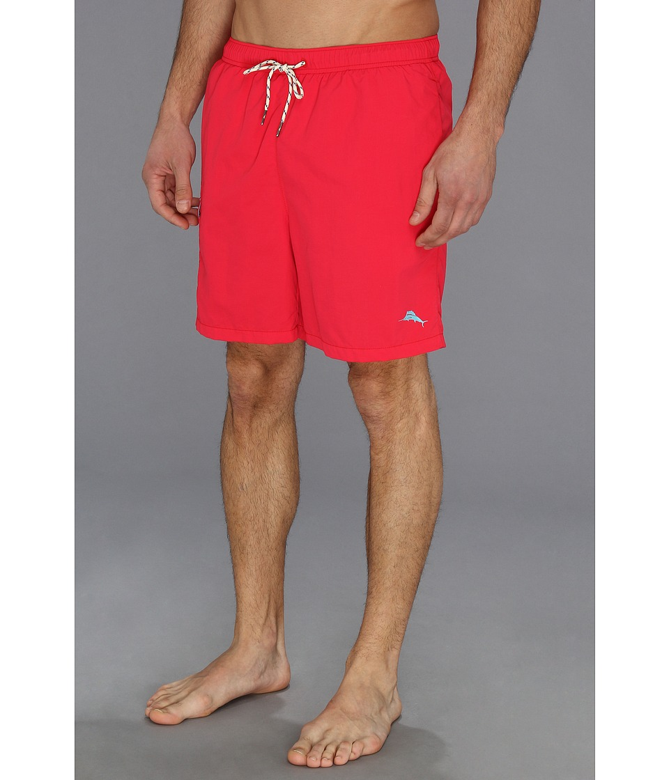 Tommy Bahama - The Naples Happy Go Cargo 6 Swim Trunks (Firecracker) Men's Swimwear