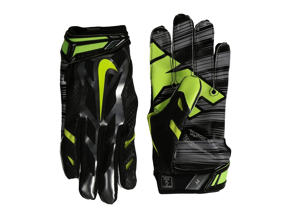Nike - Vapor Jet 3.0 (Metallic Dark Grey/Black/Chrome/Volt) Lifting Gloves