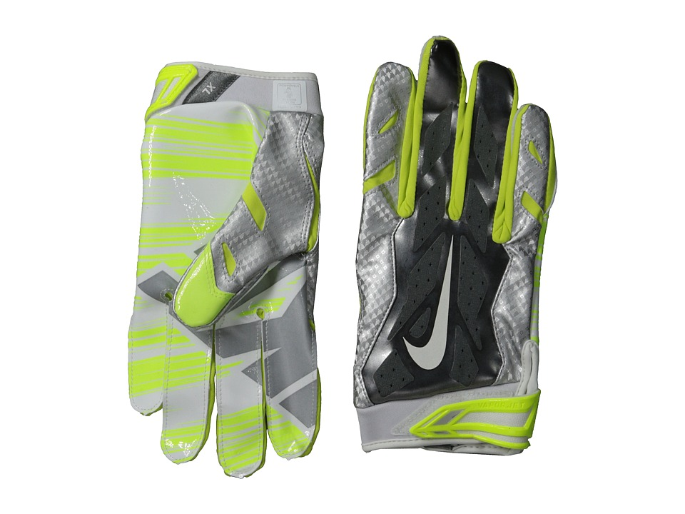 Nike - Vapor Jet 3.0 (Metallic Silver/Metallic Dark Grey/Chrome/White) Lifting Gloves