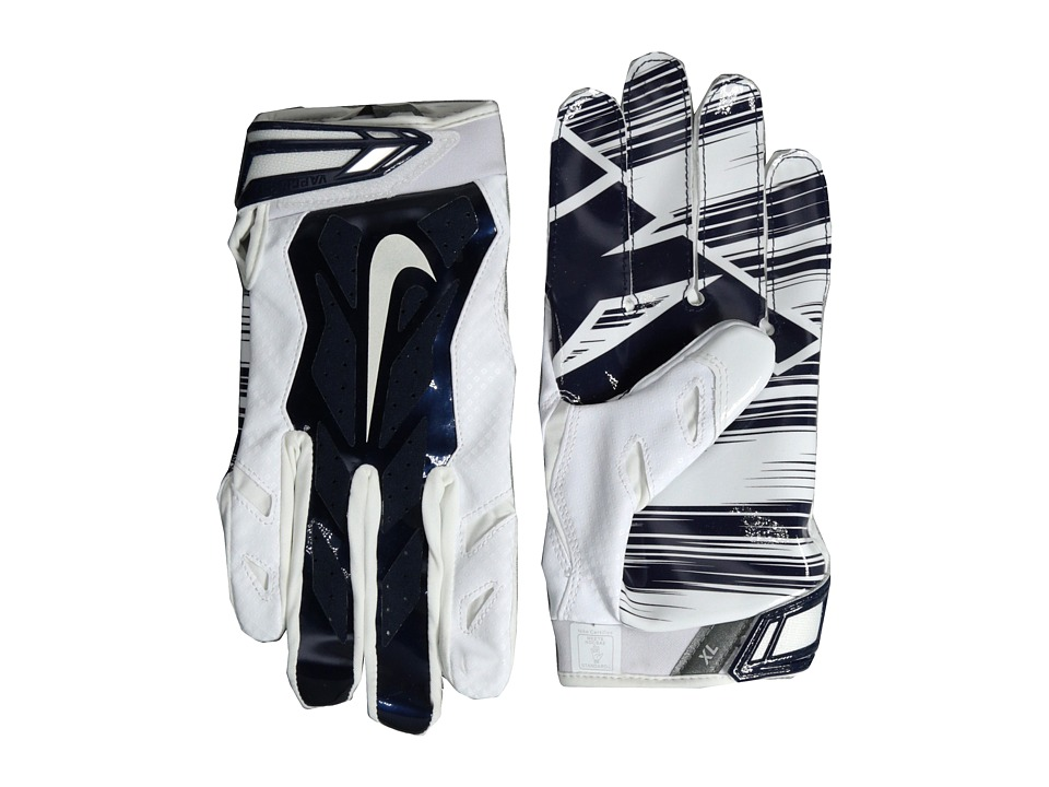Nike - Vapor Jet 3.0 (White/College Navy/College Navy/White) Lifting Gloves