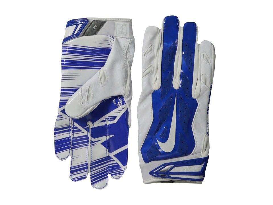 Nike - Vapor Jet 3.0 (White/Game Royal/Game Royal/White) Lifting Gloves