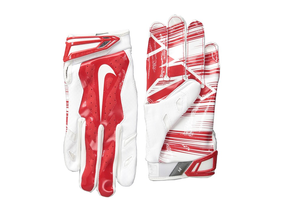 Nike - Vapor Jet 3.0 (White/University Red/University Red/White) Lifting Gloves