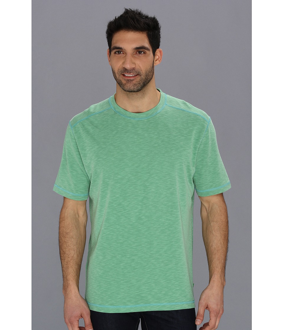 Tommy Bahama Paradise Blend Tee Mens Short Sleeve Pullover (Red)