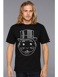 SALE! $16.99 - Save $19 on Crooks Castles Crooks x Monopoly Big Face Karat Knit Crew T Shirt (Black) Apparel - 52.81% OFF $36.00