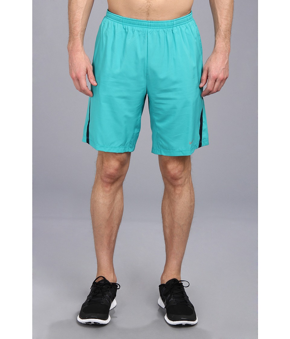 Nike - 9 Distance Short (Turbo Green/Reflective Silver) Men
