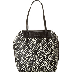 SALE! $46.15 - Save $43 on Kenneth Cole Reaction Stack Exchange Shopper (Black White Signature) Bags and Luggage - 48.15% OFF $89.00