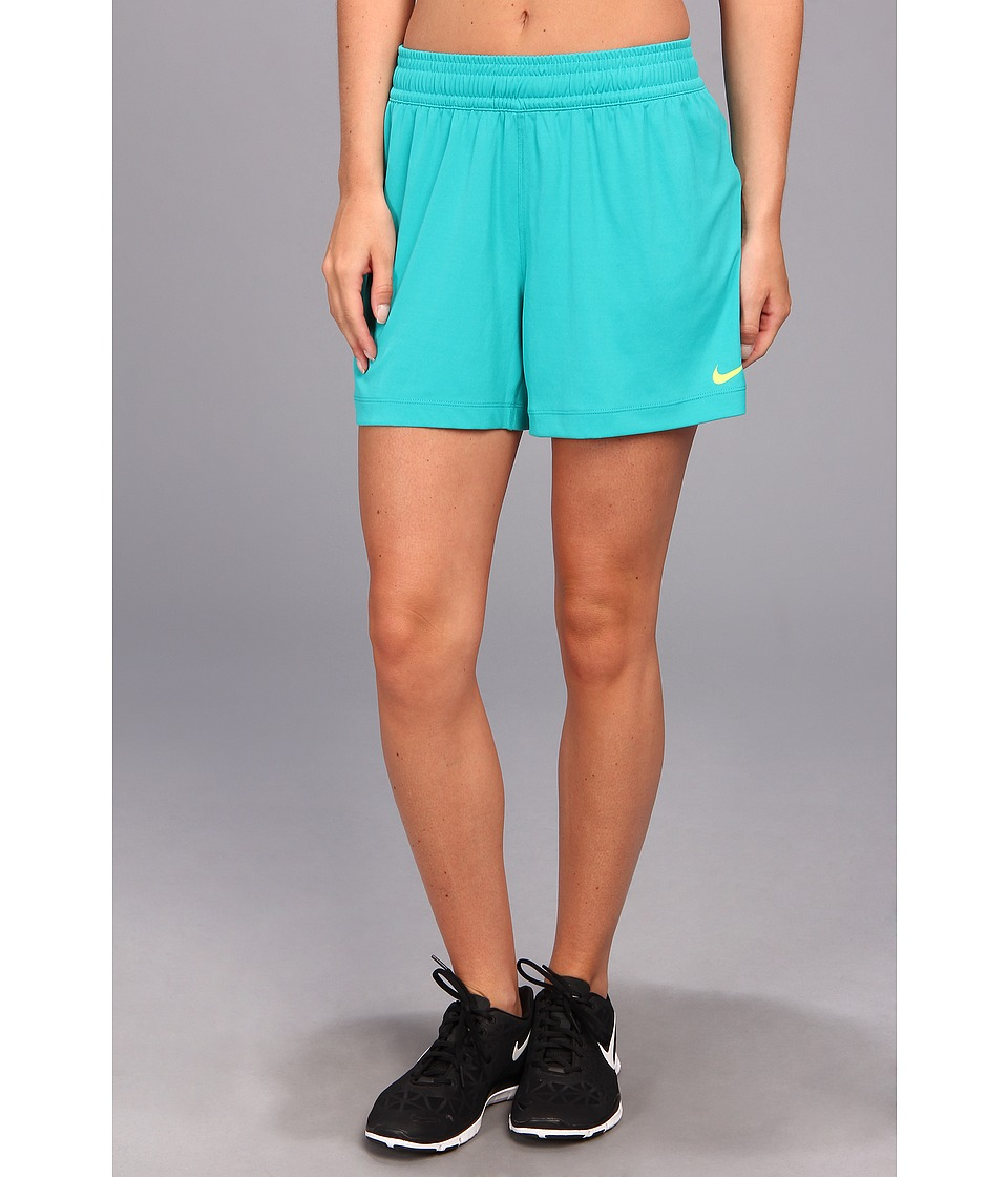 Nike - Nike 5 Fly Knit Short (Turbo Green/Volt) Women
