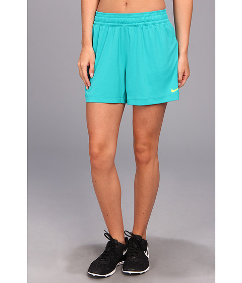 Nike - Nike 5 Fly Knit Short (Turbo Green/Volt) Women's Shorts