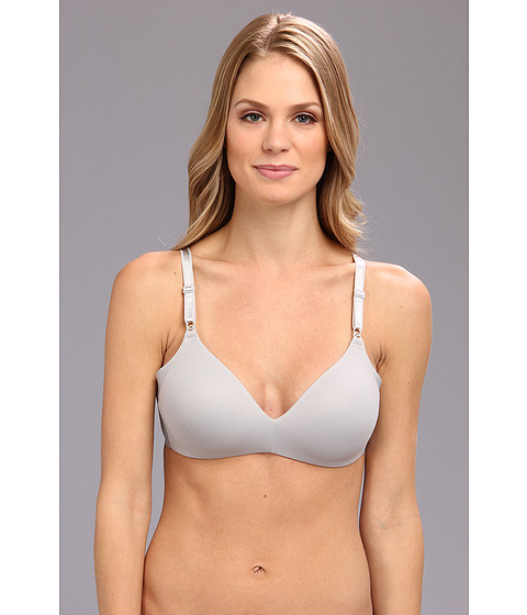 Warner's - No Side Effects Wire-Free (Platinum w/ White) Women's Bra