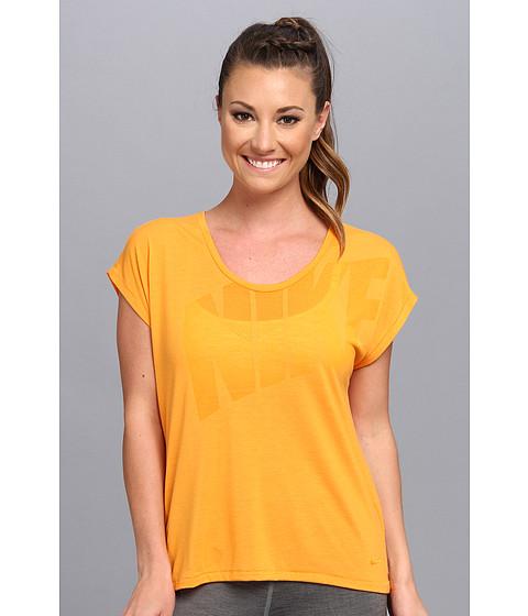 Nike - Nike Club Boxy Tee Logo (Kumquat/Kumquat) Women's T Shirt