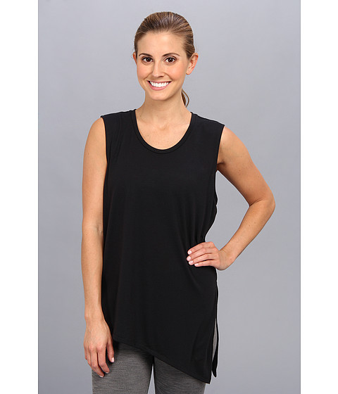 Nike - Nike Club Tie Tee II (Black/Black) Women's Sleeveless