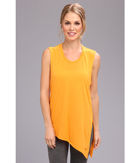 Nike - Nike Club Tie Tee II (Kumquat/Kumquat) Women's Sleeveless