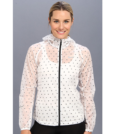 Nike - Cyclone Jacket (White/Black/Reflective Silver) Women's Jacket
