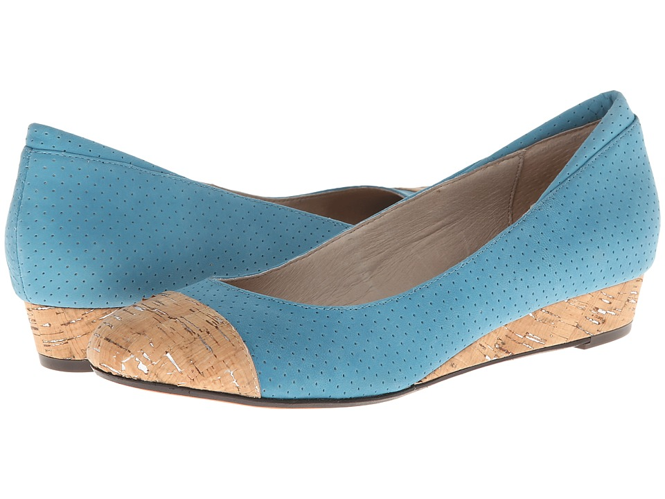 Donald J Pliner - Julie (Turquoise) Women's Wedge Shoes
