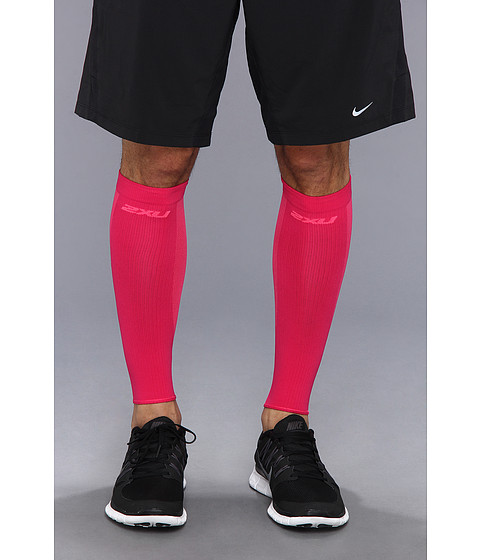 2XU - Performance Run Sleeve (Hot Pink/Hot Pink) Athletic Sports Equipment