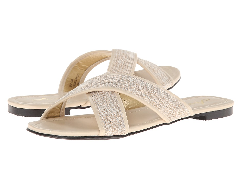 Annie - Sofia (Natural Raffia - Kid PU) Women