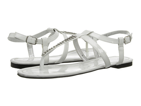 Annie - Shilo (White Patent) Women's Sandals