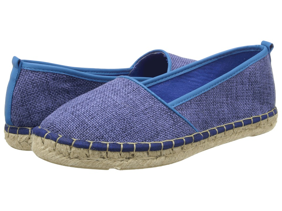 Annie - Taffy (Denim) Women's Flat Shoes