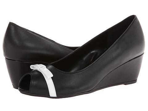 Vaneli - Winda (Black E-Nappa/White Ferns Patent) Women