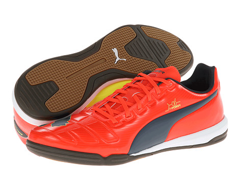 PUMA - evoPOWER 3 IT (Fluro Peach/Ombre Blue/Fluro Yellow) Men