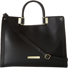 SALE! $74.99 - Save $100 on Ivanka Trump Rose Satchel Saffiano (Black) Bags and Luggage - 57.15% OFF $175.00