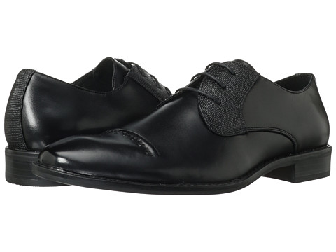 Stacy Adams - Huntley (Black Leather) Men's Lace up casual Shoes