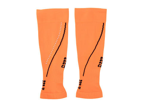 CEP - Progressive + Night Calf Sleeves 2.0 (Flash Orange/Black) Running Sports Equipment