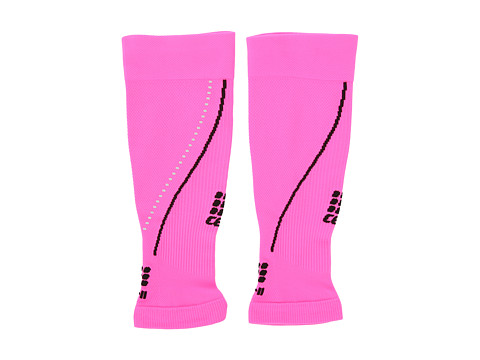 CEP - Progressive + Night Calf Sleeves 2.0 (Flash Pink/Black) Running Sports Equipment