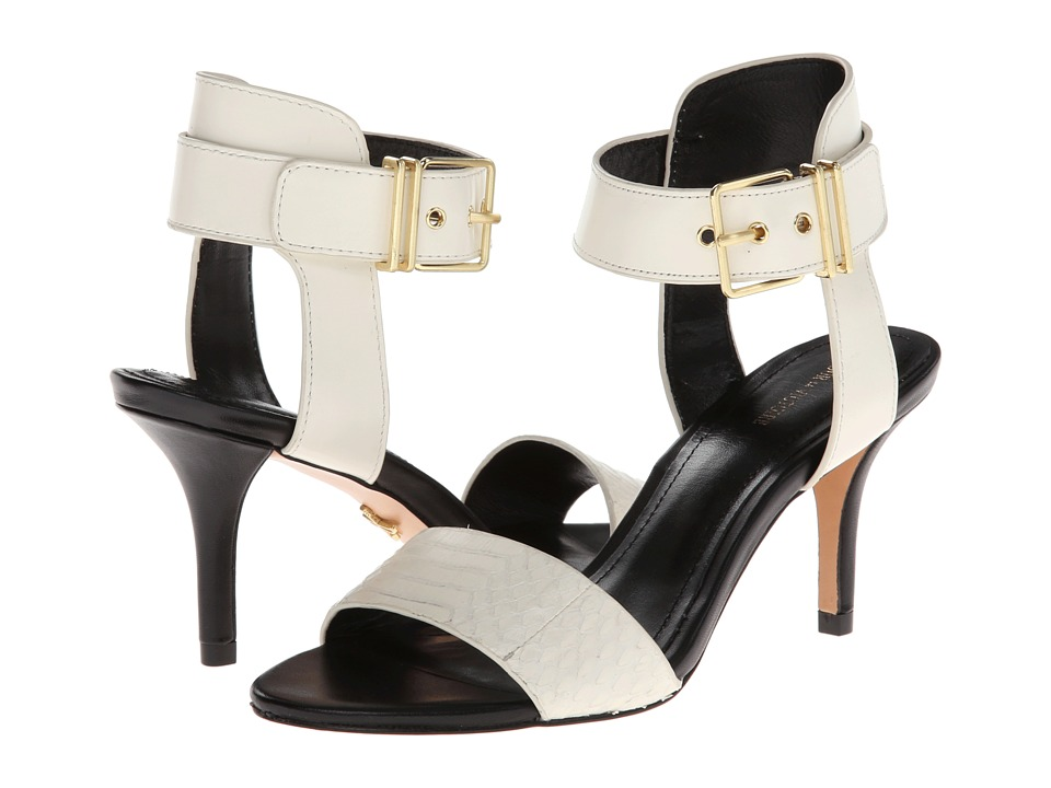 Pour La Victoire - Quin (Off White Matt Python/Box Calf) High Heels