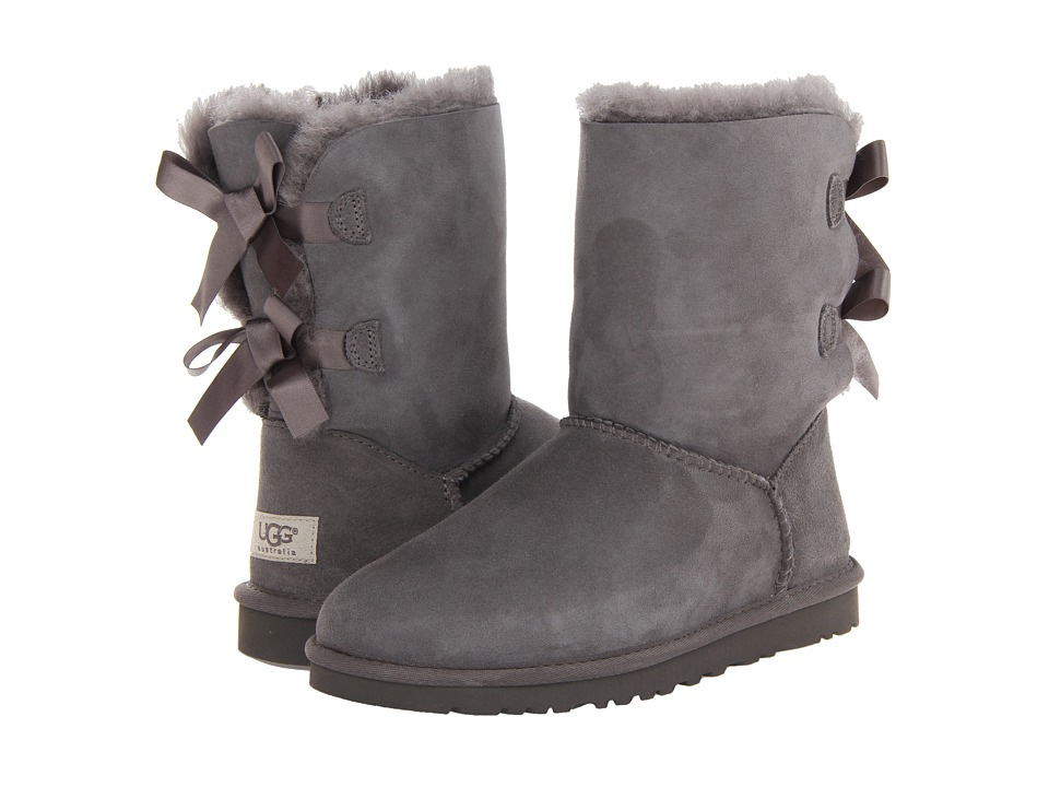 UGG - Bailey Bow (Grey Twinface) Women