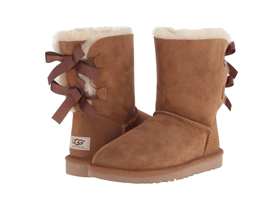 UGG - Bailey Bow (Chestnut Twinface) Women's Boots