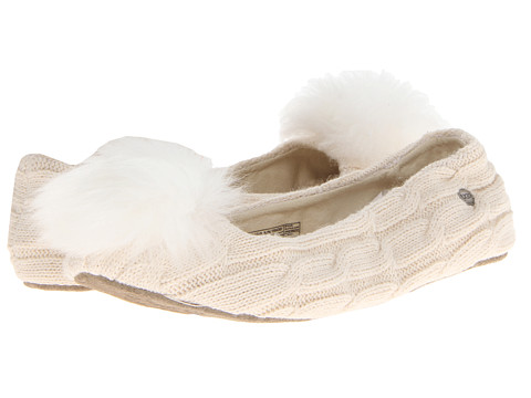 UGG - Andi (Cream Knit) Women's Flat Shoes