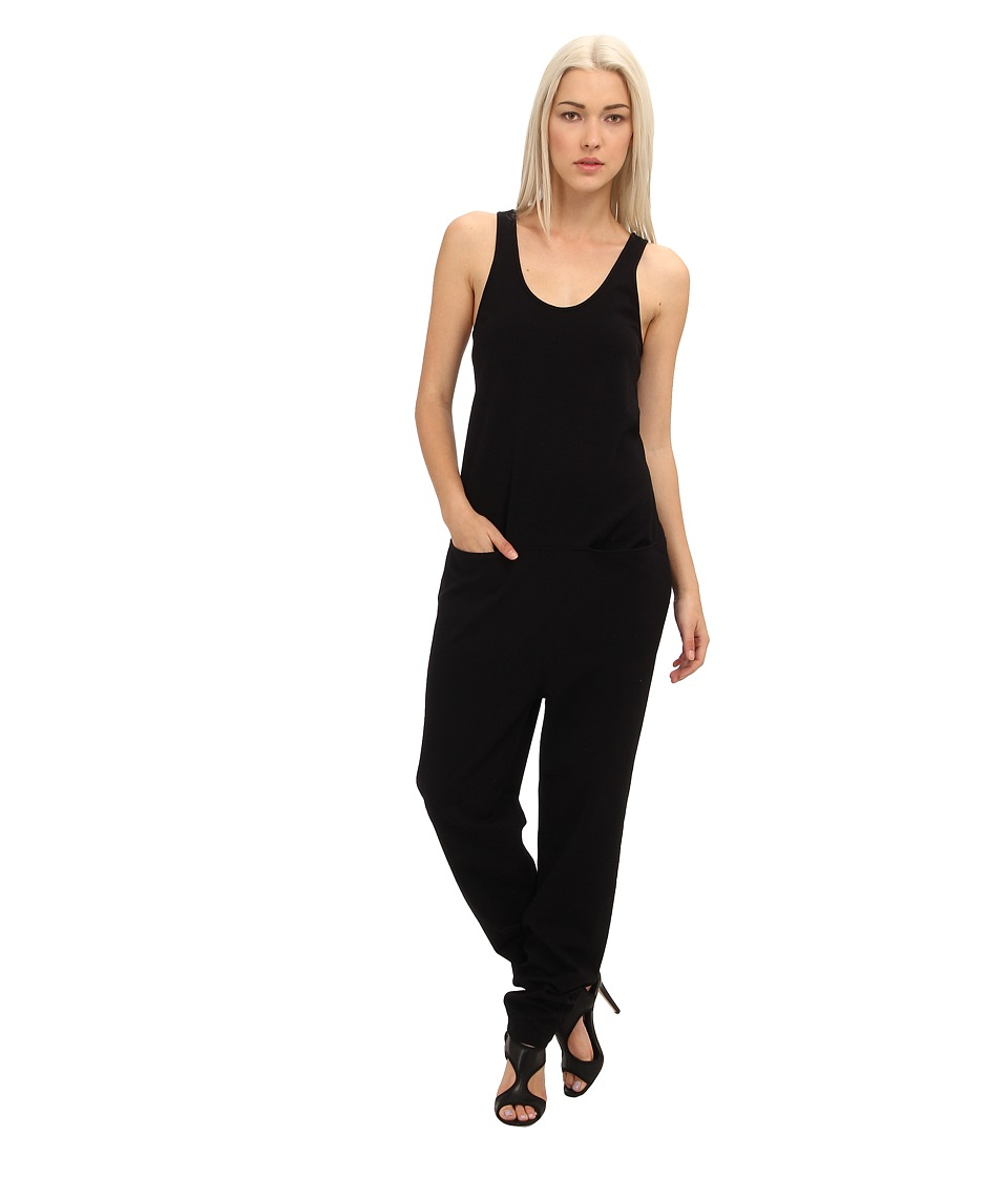 tibi - Oil Slick Jumpsuit (Black) Women's Jumpsuit & Rompers One Piece