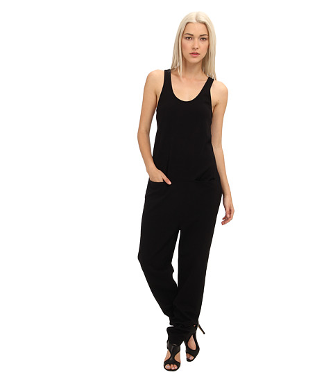 tibi - Oil Slick Jumpsuit (Black) Women