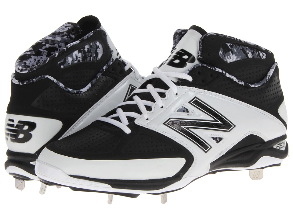 New Balance - 4040v2 Mid (Black/White) Men's Shoes