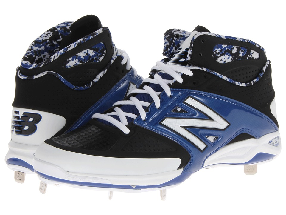 New Balance - 4040v2 Mid (Black/Blue) Men's Shoes