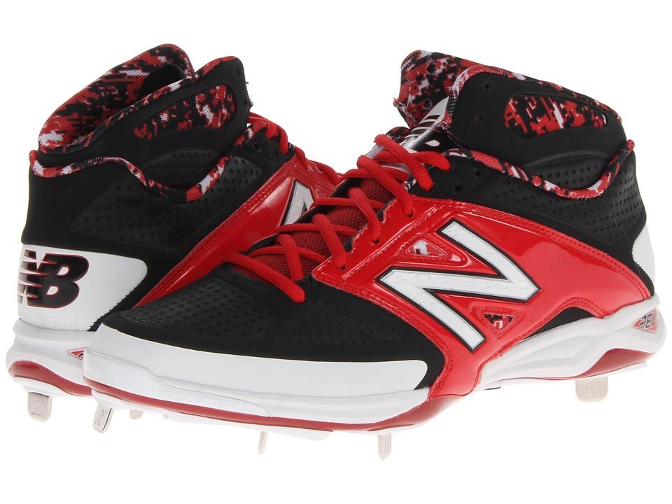 New Balance - 4040v2 Mid (Black/Red) Men's Shoes