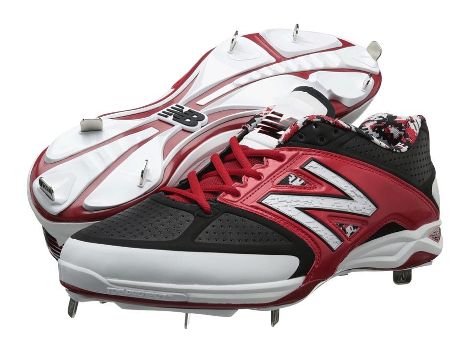New Balance - 4040v2 Low (Black/Red) Men's Shoes
