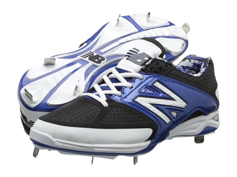 New Balance - 4040v2 Low (Black/Blue) Men's Shoes