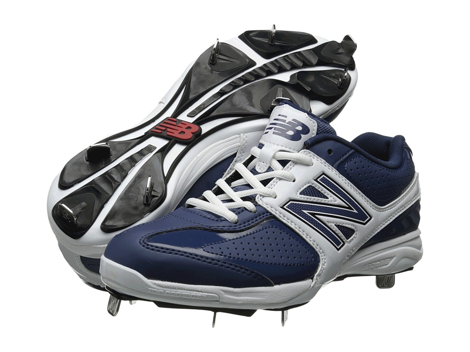 New Balance - MB4040 (Blue/White) Men's Cleated Shoes