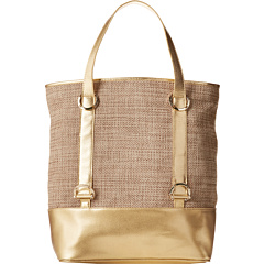 SALE! $109.99 - Save $40 on Ivanka Trump Alexis Beach Bag Metallic Jute (Gold) Bags and Luggage - 26.67% OFF $150.00