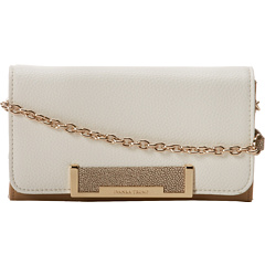 SALE! $90.99 - Save $34 on Ivanka Trump Heather Crossbody Multi Color Block (White) Bags and Luggage - 27.21% OFF $125.00