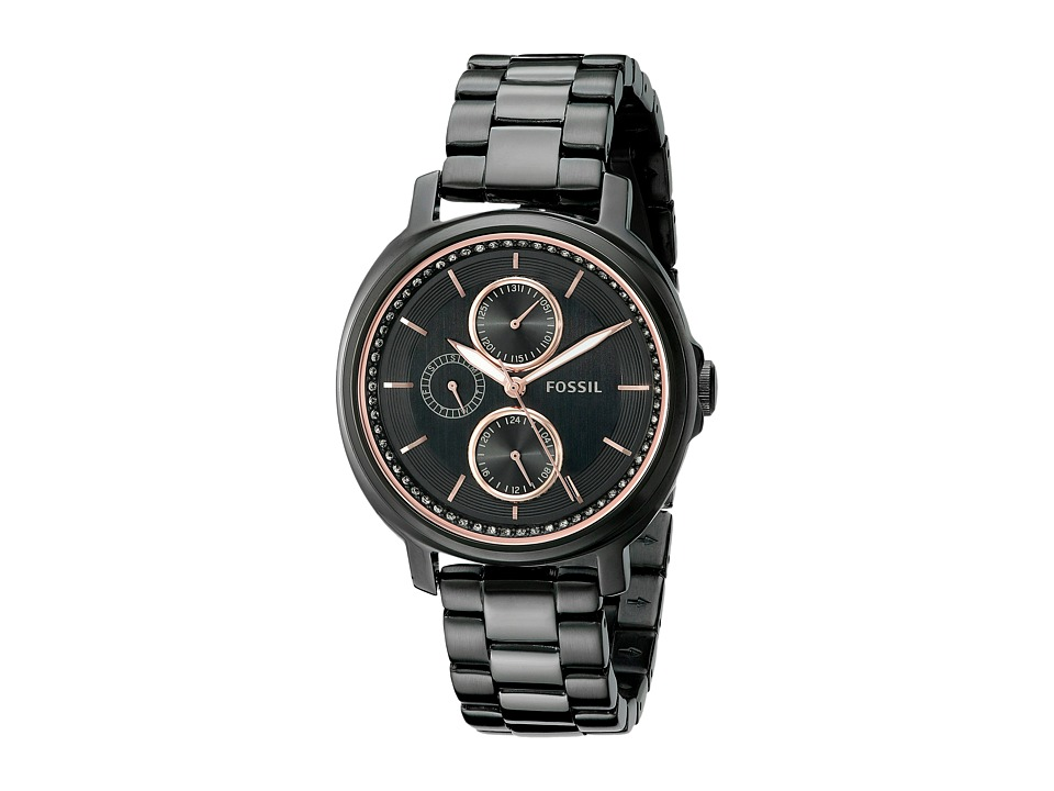 Fossil - Chelsey - ES3451 (Black) Watches